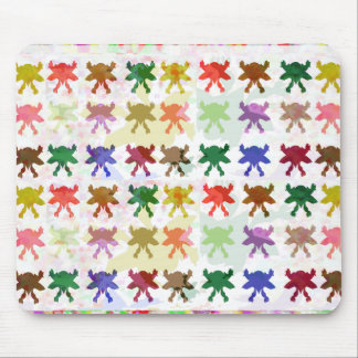 BUTTERFLY PATTERN MOUSE PAD