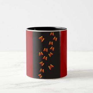 Butterfly Pattern Coffee Mug