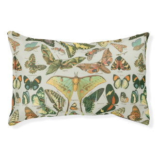 Butterfly Pattern Pet Bed