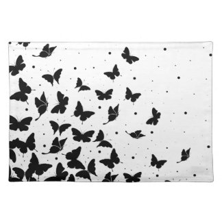 Butterfly pattern placemat
