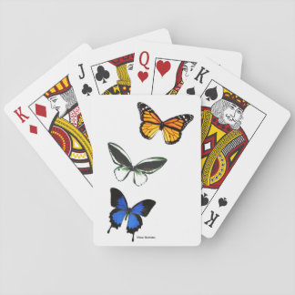 Butterfly Pattern Playing Cards