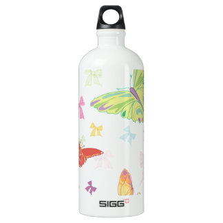 Butterfly pattern SIGG traveller 1.0L water bottle
