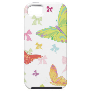 Butterfly pattern tough iPhone 5 case