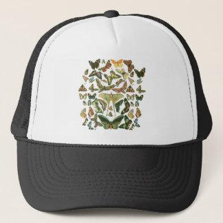 Butterfly Pattern Trucker Hat