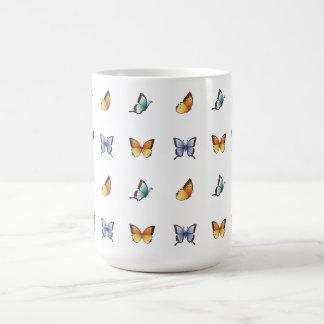 Butterfly Pattern Vector Art Coffee Mug