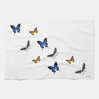 Butterfly Patterned Kitchen Towel