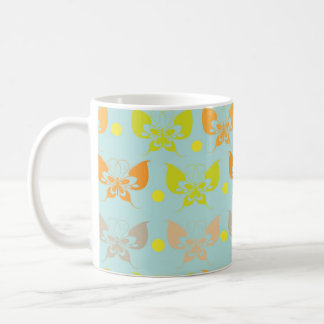 Butterfly patterns mug