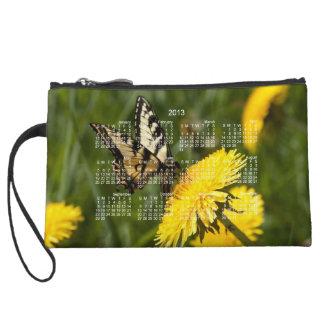 Butterfly Perch; 2013 Calendar Wristlet Clutches