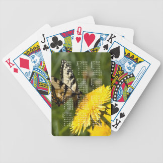 Butterfly Perch; 2013 Calendar Bicycle Poker Deck