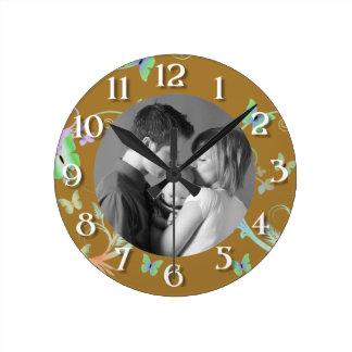Butterfly/Photo Clocks