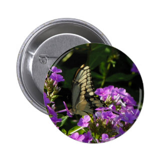 Butterfly Photo Gift 6 Cm Round Badge