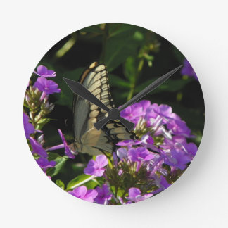 Butterfly Photo Gift Clock