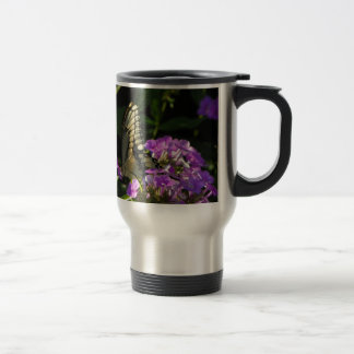 Butterfly Photo Gift Stainless Steel Travel Mug
