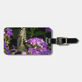 Butterfly Photo Gift Travel Bag Tags