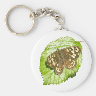 Butterfly photo keychain