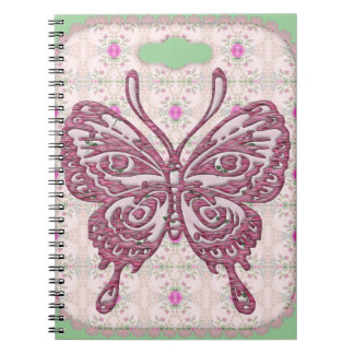 butterfly photo notebook