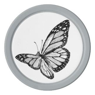 Butterfly Poker Chips