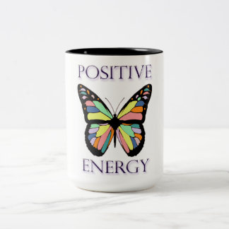 Butterfly Positive Energy Large Mug