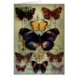 Butterfly Postcard Greeting Card