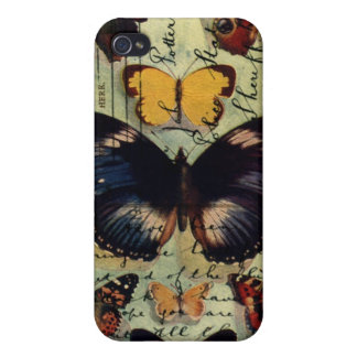 Butterfly Postcard iPhone 4 Covers