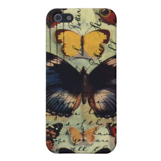 Butterfly Postcard iPhone 5/5S Covers