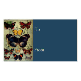 Butterfly Postcard Pack Of Standard Business Cards