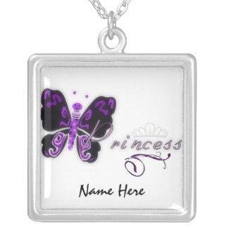 Butterfly Princess Custom Necklace