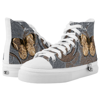 Butterfly Printed Shoes