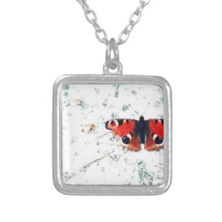 Butterfly prints Butterfly prints Silver Plated Necklace