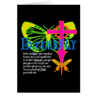 Butterfly Promise Greeting Card
