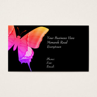 Butterfly Psychedelic Business Card