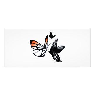 butterfly custom rack cards