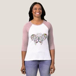 Butterfly Raglan T-Shirt