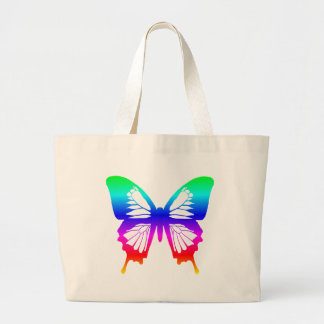 Butterfly - Rainbow Tote Bag