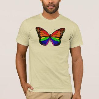 Butterfly Rainbow Mens Tee