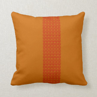 butterfly & Red with terracotta Cushion