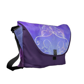 Butterfly Ribbon Messenger Bag