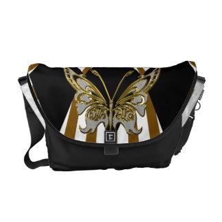 Butterfly Rickshaw Messenger Bag