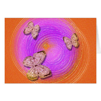 """Butterfly Ripples"" Greeting Card"