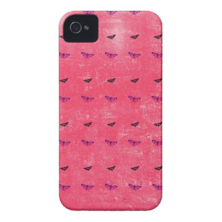 Butterfly rosy iPhone 4 cases