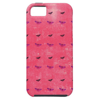 Butterfly rosy iPhone 5 case