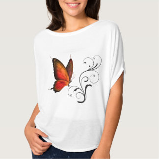 Butterfly Scroll Easy Top