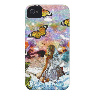 BUTTERFLY SHOW FOR FAE AND FROGS iPhone 4 Case-Mate CASE