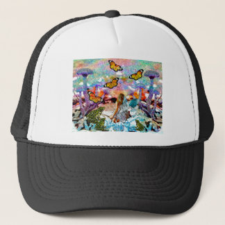 BUTTERFLY SHOW FOR FAE AND FROGS TRUCKER HAT
