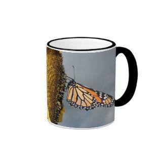 butterfly shy coffee mug