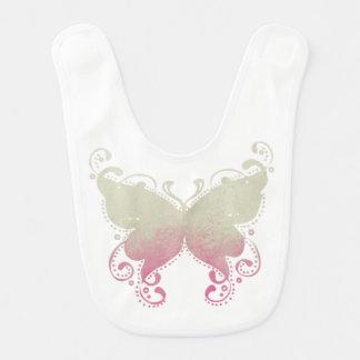 Butterfly Silhouette - Baby Bib
