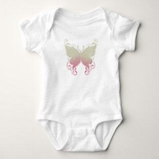 Butterfly Silhouette - Baby Bodysuit