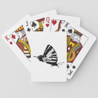 Butterfly Silhouette Playing Card