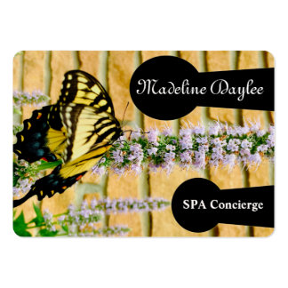 Butterfly Spa  Professional Pack Of Chubby Business Cards