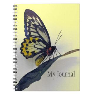 Butterfly Spiral-Bound Journal Notebook